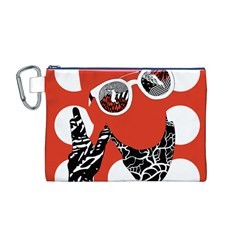 Twenty One Pilots Poster Contest Entry Canvas Cosmetic Bag (M)