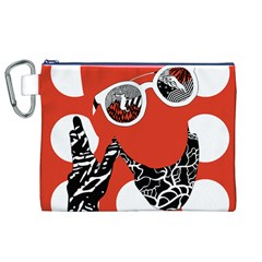 Twenty One Pilots Poster Contest Entry Canvas Cosmetic Bag (XL)