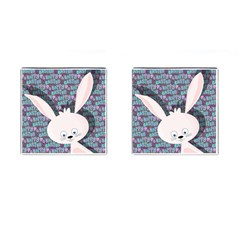 Easter bunny  Cufflinks (Square)