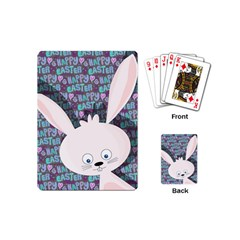 Easter bunny  Playing Cards (Mini)