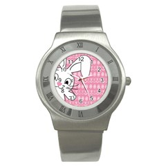 Easter bunny  Stainless Steel Watch
