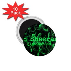 Bloodstream Single ED Sheeran 1.75  Magnets (10 pack)