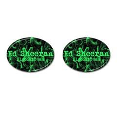 Bloodstream Single ED Sheeran Cufflinks (Oval)