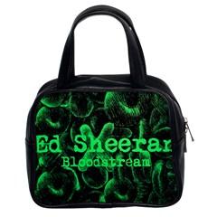 Bloodstream Single ED Sheeran Classic Handbags (2 Sides)