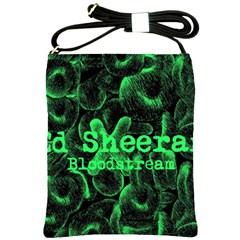 Bloodstream Single ED Sheeran Shoulder Sling Bags