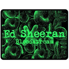 Bloodstream Single ED Sheeran Fleece Blanket (Large)
