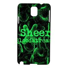 Bloodstream Single ED Sheeran Samsung Galaxy Note 3 N9005 Hardshell Case