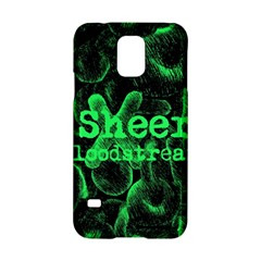 Bloodstream Single Ed Sheeran Samsung Galaxy S5 Hardshell Case