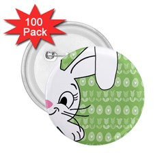 Easter bunny  2.25  Buttons (100 pack)