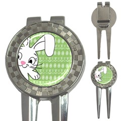 Easter Bunny  3 In 1 Golf Divots