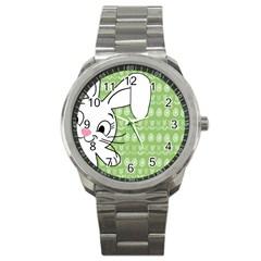 Easter bunny  Sport Metal Watch