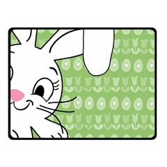 Easter bunny  Fleece Blanket (Small)
