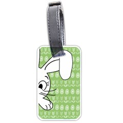 Easter bunny  Luggage Tags (One Side)