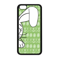 Easter bunny  Apple iPhone 5C Seamless Case (Black)