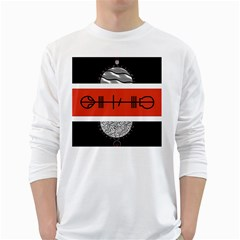 Poster Twenty One Pilots White Long Sleeve T-Shirts