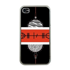 Poster Twenty One Pilots Apple iPhone 4 Case (Clear)
