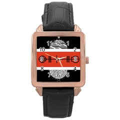 Poster Twenty One Pilots Rose Gold Leather Watch