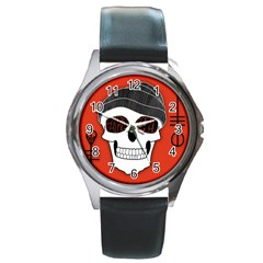 Poster Twenty One Pilots Skull Round Metal Watch