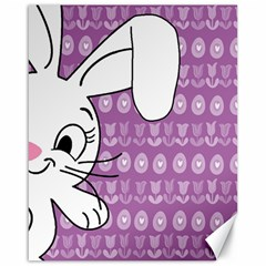 Easter bunny  Canvas 16  x 20