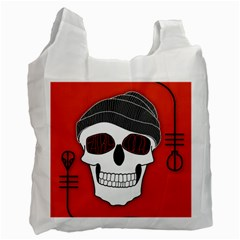 Poster Twenty One Pilots Skull Recycle Bag (Two Side)