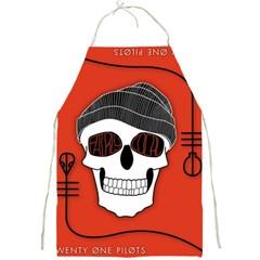 Poster Twenty One Pilots Skull Full Print Aprons