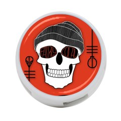 Poster Twenty One Pilots Skull 4 Port Usb Hub (one Side)