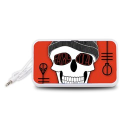 Poster Twenty One Pilots Skull Portable Speaker (White)