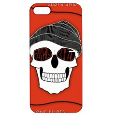 Poster Twenty One Pilots Skull Apple iPhone 5 Hardshell Case with Stand