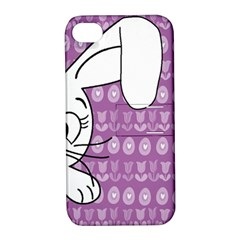 Easter bunny  Apple iPhone 4/4S Hardshell Case with Stand