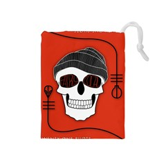 Poster Twenty One Pilots Skull Drawstring Pouches (medium)