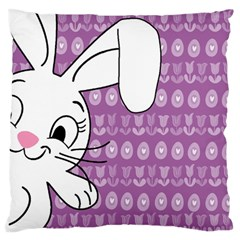 Easter bunny  Standard Flano Cushion Case (One Side)
