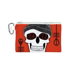 Poster Twenty One Pilots Skull Canvas Cosmetic Bag (S)