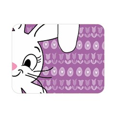 Easter bunny  Double Sided Flano Blanket (Mini)