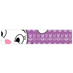 Easter bunny  Flano Scarf (Small)
