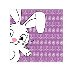 Easter bunny  Small Satin Scarf (Square)