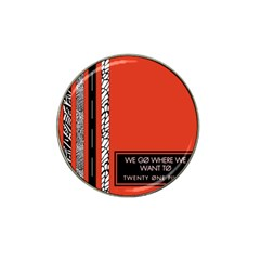 Poster Twenty One Pilots We Go Where We Want To Hat Clip Ball Marker (4 pack)
