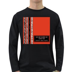 Poster Twenty One Pilots We Go Where We Want To Long Sleeve Dark T-Shirts