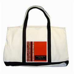 Poster Twenty One Pilots We Go Where We Want To Two Tone Tote Bag