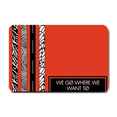 Poster Twenty One Pilots We Go Where We Want To Small Doormat