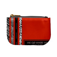 Poster Twenty One Pilots We Go Where We Want To Mini Coin Purses