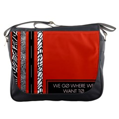 Poster Twenty One Pilots We Go Where We Want To Messenger Bags
