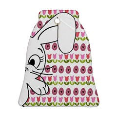 Easter bunny  Bell Ornament (Two Sides)