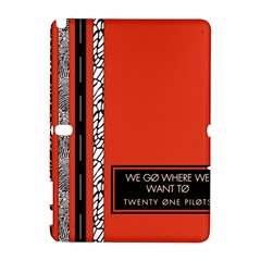 Poster Twenty One Pilots We Go Where We Want To Galaxy Note 1