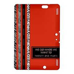 Poster Twenty One Pilots We Go Where We Want To Kindle Fire HDX 8.9  Hardshell Case