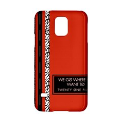 Poster Twenty One Pilots We Go Where We Want To Samsung Galaxy S5 Hardshell Case