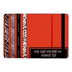 Poster Twenty One Pilots We Go Where We Want To Samsung Galaxy Tab Pro 10.1  Flip Case