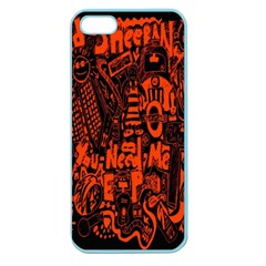 Ed Sheeran Apple Seamless iPhone 5 Case (Color)