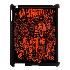 Ed Sheeran Apple Ipad 3/4 Case (black)