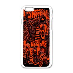 Ed Sheeran Apple iPhone 6/6S White Enamel Case