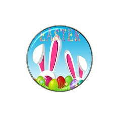 Easter bunny  Hat Clip Ball Marker (4 pack)